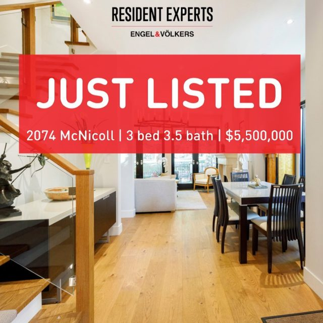Welcome to 2074 McNicoll! A location of distinction within coveted Kits Point. Just steps to the ocean, enjoy beach, mountain, and park views. Renovated to the highest standards in 2018/2019 this 3 bed & 3.5 bath home has plenty of indoor and outdoor space to entertain including an exclusive 800 bottle custom wine cellar. #residentexperts
