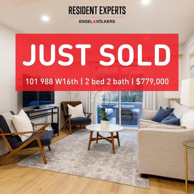 Just sold!  • •  We are thrilled to announce another great sale in this hot fall market! This newly renovated 2 bed & 2 bath offers an upscale modern design featuring upgrades to the kitchen, hardwood floors and custom cabinetry. Ideally located walking distance to the Seawall and a short walk to Cambie with diverse shopping and dining options. A huge congrats to our clients! We couldn't be happier for you.  📍 101-988 W 16th Ave  💰 $779,000 🛌 2 bed 🛁 2 bath  📏 929 sq.ft