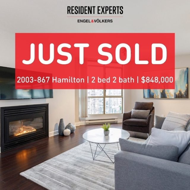 Just sold!  • •  Another successful sale at Jardine's Lookout, congratulations to our clients! The importance of pricing and communicating the true value to prospective buyers can make all the difference. We found the perfect match as this buyer can't wait to add their personal touch and do some cosmetic renovations to make it their own. This location is incredibly central, just blocks away from the Seawall, Robson shops, Financial District and some of the most notable restaurants in the city. Thank you Tammy Sharp, it was such a pleasure working with you. Congrats to this buyer who gets this stunning new home for the new year.  📍 2003-867 Hamilton St 💰 $848,000 🛌 2 bed  🛁 2 bath 📏 1068 sq.ft.