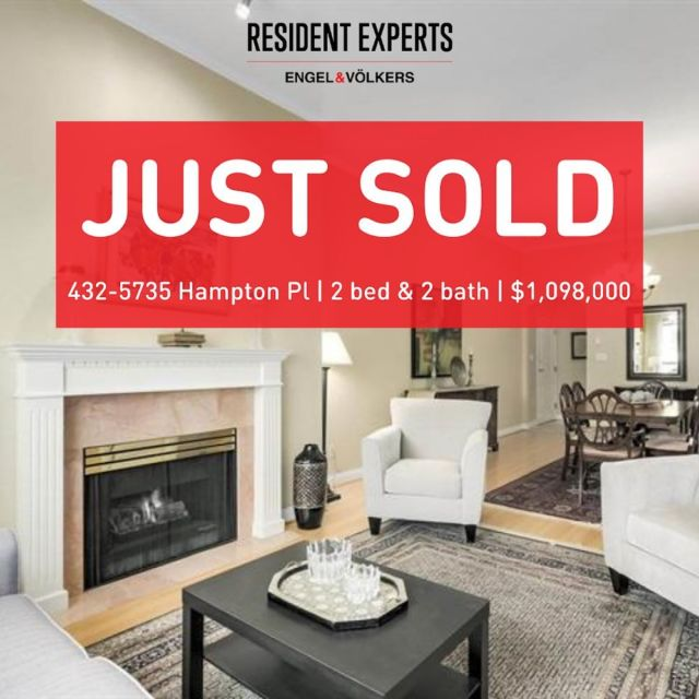 Just sold!  • •  Our clients were trying to navigate the crazy Vancouver market and were struggling to find something that fit for them without it selling too fast or way above their budget. So we got into this listing the first day and wrote an offer within hours or viewing. It took some work, but we managed to secure them this perfect family home before anyone else swooped in to make it a competitive situation. Big congrats to our clients on this lovely family home!   📍432-5735 Hampton Place 💰 $1,098,000 🛌 2 bed  🛁 2 bath 📏 1329 sq.ft.